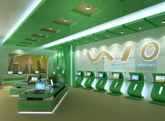 Trần thạch cao showroom cửa hàng